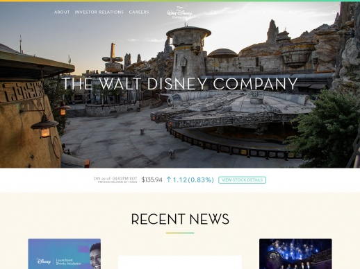 Illustration site The Walt Disney Company