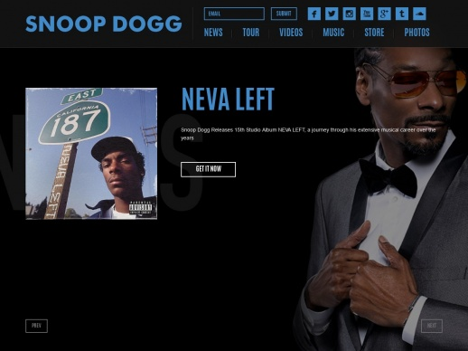 Illustration site Snoop Dogg