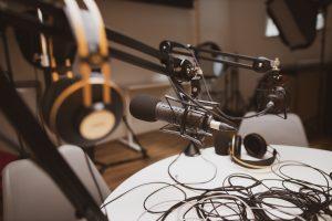 Studio d'enregistrement de podcast