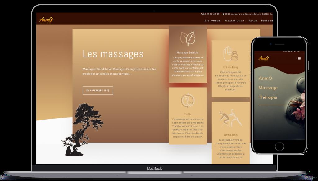 presentation site Anmo massage thérapie